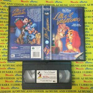 VHS film LILLI E IL VAGABONDO 1990 walt disney animazione cartoni (F49) no dvd