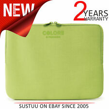 "Tucano Colore Second Skin Neoprene Sleeve Case/ Cover│15.6"" Laptop Bag│New│Green"