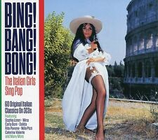 Bing! Bang! Bong! Italian Girls Sing Pop 60 Classics 3CD Set Sophia Loren +more