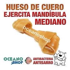 HUESO DE CUERO NUDO MEDIANO PERRO SABROSO EJERCITA MANDÍBULA D72 50259