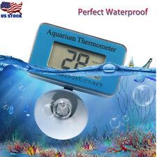 Digital Fish Tank Aquarium Thermometer Submersible Water Temperature Meter Us