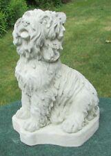 Concrete Yorkshire Terrier Life Size , Statue, Memorial Or Grave Marker