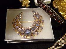 300+ vintage costume jewelry lot rhinestones Juliana signed Florenza Kramer lbs