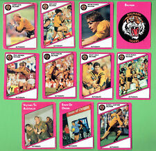 1988  BALMAIN TIGERS  SCANLENS RUGBY LEAGUE CARDS