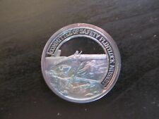 "NRA ""A Nation of Riflemen"" Official Solid .999 Silver Proof Rounds ""Musket"""