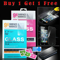100% Genuine 1+1 Glass Tempered Film Screen Protector For Apple iPhone 7Plus