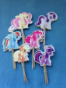 Cupcake Cake Toppers My Little Pony 24pcs