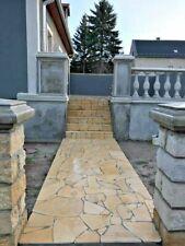 crema Premium Natursteine Polygonalplatten Fliesen Terrassenplatten 1,9-2,5cm