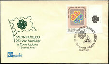 Argentina 1983 World Communications Year FDC First Day Cover #C43360