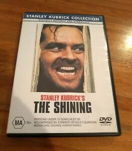 The Shining DVD  REGION 4