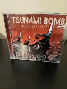 Tsunami Bomb - Definitive Act (2004 CD)