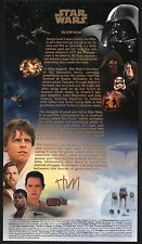 Star Wars Royal Mail First Day Cover SIGNED Malcolm Tween THE STORY SO FAR