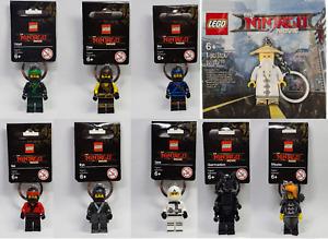 Brand New Lego Ninjago Movie Keyrings ---> Choose yours from Lloyd, Kai, Jay....