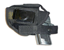 #2 HOLSTER WALTHER PPK / AMT 380/RUGER LCP II AMBI RH+LH BELT/CLIP MAG POUCH NEW