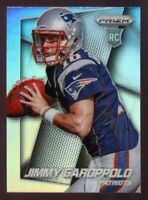 2014 Panini Prizm JIMMY GAROPPOLO Rookie Card RC SILVER #243 49ers FACE LEFT SSP