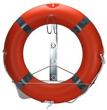 Lifebouy Ring With Bracket Life Saving Device, Life Ring with SS Lifebouy Holder