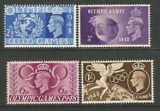 GB KGVI 1948 Olympic Games Commemorative Set, unmounted mint