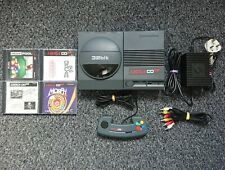 Commodore Amiga CD32 Console + 4 Games And Official Joypad Controller