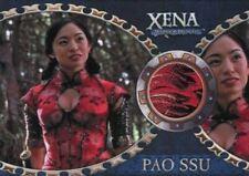 Xena Dangerous Liaisons Marie Matiko as Pao Ssu Costume Card C1