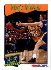 Magic Johnson Hoops #535 1991/92 NBA Basketball Card