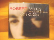 MAXI Single CD ROBERT MILES FEAT MARIA NAYLER One & One 6TR 1996 trance house