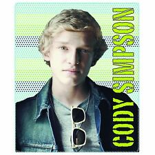 "Cody Simpson Portrait Fleece Throw Blanket Ultra light 50""x60"""