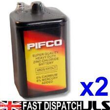 2 x Pifco 4R25 6V Batteries 6 Volt 996 PJ996 908 908S Lantern 4R25X  4R25RZ/B