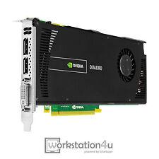 NVIDIA Quadro 4000 v2 2GB DDR5 Grafikkarte professionell 3D CUDA DVI DisplayPort