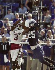 Kevin White Tcu Horned Frogs Signed 8X10 Photo W/Coa #1