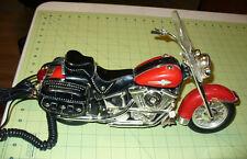 HARLEY DAVIDSON MOTORCYCLE NOVELTY TELEPHONE LIC PRODUCT- NOVELTY PHONE- WORKS