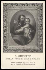 """santino-holy card""""S.GIUSEPPE"""