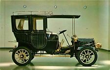 1906 WHITE MODEL F STEAM LIMOUSINE ANTIQUE AUTOMOBILE CAR POSTCARD