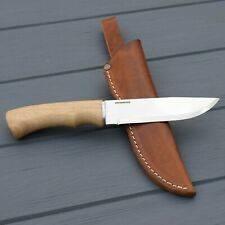 Large Outdoor Fixed Blade Knives with Leather Sheath Camp Gear Scout Handmade