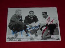 Armin une harey-Manfred Germar-Autograph-signée-Signed - autographe - 1958