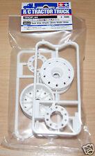 Tamiya 56544 Semi Wide Wheels (30mm Width) White, (Mercedes-Benz Actros), NIP
