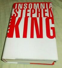 Stephen King Signed INSOMNIA 1994 1st/1st Hard Copy Book