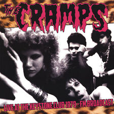 The Cramps - LIVE @ Keystone Club 1979 Vinyl - Lmt Ed of 500-SOLD OUT-RARE-NEW!