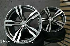 4x 21 inch 648 Style 5x112 rims for BMW 5 7 G30 G31 G11 G12 gray Gray wheels