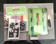 BNIB Battery Operated Mini Clip Lights Photo Hanger Fairy Lights