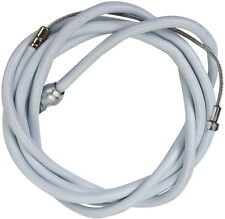 "New BMX / Universal Bike Brake Cable & Housing 65"" Cable White"