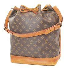 Authentic LOUIS VUITTON Noe Monogram Shoulder Tote Bag Purse #36992