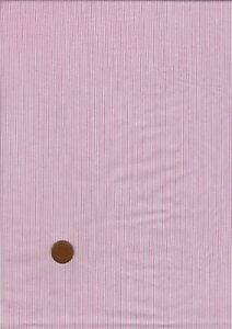 100% Cotton Fabric Shirting Burgundy White Micro Stripe Patchwork Craft