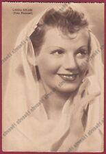 LAURA SOLARI 05 ATTRICE ACTRESS ACTRICE CINEMA MOVIE - TRIESTE Cartolina 1939