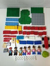Mega Bloks Lego Duplo Bundle mixed bricks car items figures