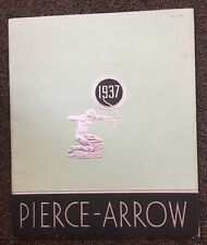 1937 Pierce Arrow Brochure