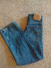 Boys Levis 550 Relaxed Fit Denim blue Jeans Size 12 Slim  Y16