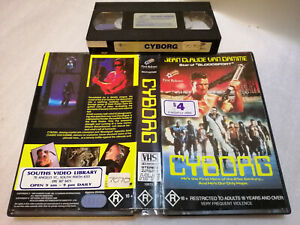 CYBORG (1989) - RARE Australian FIRST RELEASE VHS Issue - SciFi ACTION THRILLER!