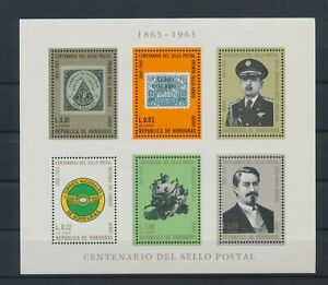 LO40377 Honduras stamp anniversary good sheet MNH