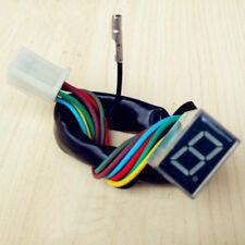 Universal LED Digital Display Gear Indicator Shift Lever Sensor Motorcycle AU