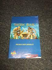 Super Nintendo SNES Battle Blaze Instruction Manual ONLY